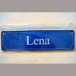 Namensschild Lena 7x26cm