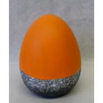 Osterei Keramik orange 15,5cm
