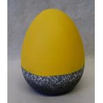 Osterei Keramik gelb 15,5cm