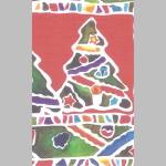 Offset Weihnachten 70x100cm