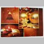 Offsettragtaschen Weihnachten A4 quer 37x26cm