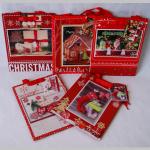 Offsettragtaschen Weihnachten A4 3D