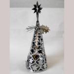 Teelichthalter Sterne 19,5cm