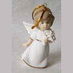 Engel weiss Porzellan 8,5cm