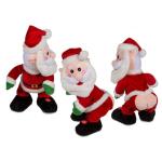 Weihnachtsmann Musik nackter Po 27cm