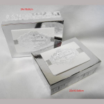 Weihnachtsbox Merry Christmas silber 2er Set