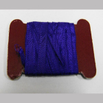 Zierband Seide 4m/6mm rot u. violette