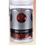 Sternkonfetti rot 50g in Dose