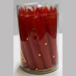 Kerzen Christbaum rot 20er