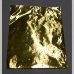Staniol ungefranst gold 25Bl.