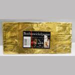 Wickelpapier Alu 24cm gold 10Bl.