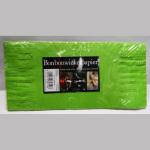 Wickelpapier 25cm grün 100Bl.