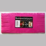 Wickelpapier 25cm pink 100Bl.