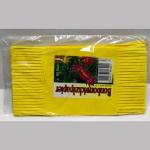 Wickelpapier 17cm gelb 100Bl.