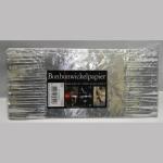 Wickelpapier Alu 24cm silber 10Bl.