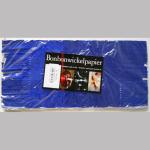 Wickelpapier Alu 24cm blau 10Bl.