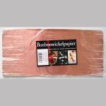Wickelpapier Alu 24cm rosa 10Bl.