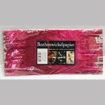 Wickelpapier Alu 24cm pink 10Bl.