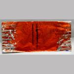 Wickelpapier Alu 24cm orange 10Bl.