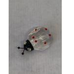 Glücksbr. Glasdelfin geschliffen 4,5cm