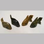 Glücksbri. Tiere aus Edelsteine 3,5cm