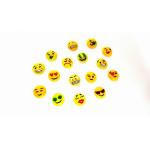 Glücksbringer Emoji 100er 1cm