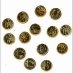 Glücksbringer Euromünze 100er 1,2x0,2cm