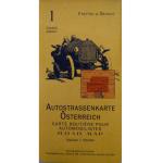 Autokarte Österreich 1:500000