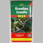 Autokarte Kroatien 1:500000