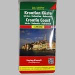 Autokarte Kroatien Küste 1:200000