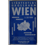 Buchplan Wien blau 1:20000