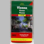 Touristenplan Wien 1:8500 + 1:25000