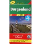 Autokarte Burgenland 1:200000
