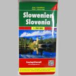 Straßenkarte Slowenien