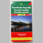 Autokarte Slowakei 1:200000
