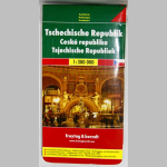 Autokarte Tschechische Republik 1:300000