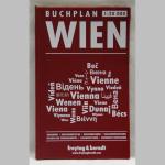 Buchplan Wien rot 1:20000
