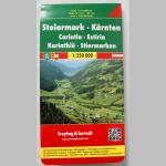 Autokarte Steiermark-Kärnten 1:250000