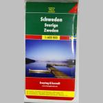 Autokarte Schweden 1:600000