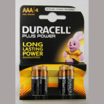 Batterie Duracell Micro 1,5V 4er
