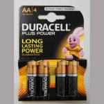 Batterie Duracell Mignon 1,5V 4er
