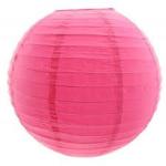 Lampion rosa 30cm