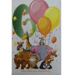Billette Geburtstag 4Jahre EAN