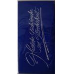 Billette Silberhochzeit 10,5x20,5cm