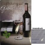 Billette Einladung Wein EAN