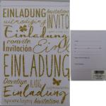 Billette Einladung Luftballon EAN