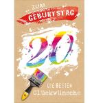 Billette Geburtstag 20Jahre EAN