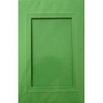 Billette Passepartou eckig hellgrün