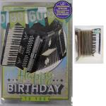 Billette Geburtstag A4 Sound 60Jahre