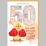 Billette Geburtstag 50Jahre EAN